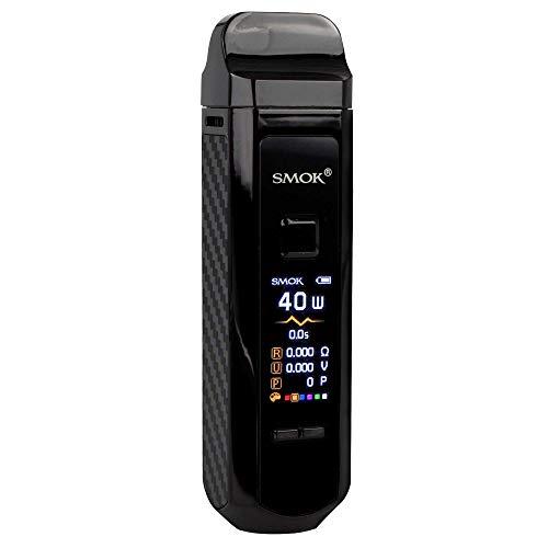 SMOK RPM40 Pod Kit 1500 mAh, Pod-System 4,3 ml/4,5 ml, Riccardo e-Zigarette, bright black