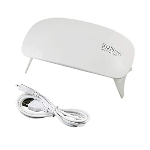 MOMOJIA Mini secador Molde epoxi UV Máquina de curado de luz Solar Ultravioleta Secador de Esmalte de uñas Herramientas de lámpara para Hornear Interfaz USB Máquinas de fototerapia de uñas
