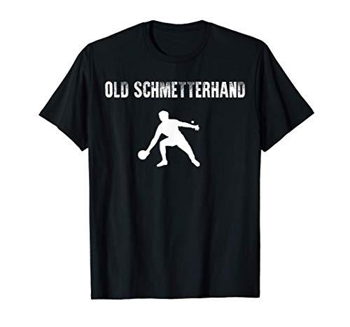 Old Schmetterhand   Tischtennis Ping Pong T-Shirt