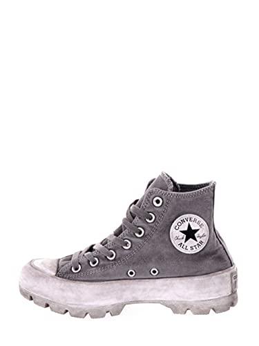 Converse Chuck Taylor All Star - Zapatillas deportivas para mujer, color gris, gris, 37.5 EU