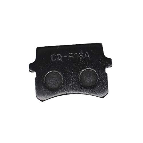 USPEEDA Front Rear Brake Pad Set for Hammerhead 150cc Go Karts GL150 GT150 GTS150 SS150