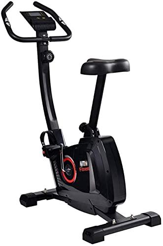 BGB108 Control magnético Cubierta Spinning Bicicleta Fitness Bicicleta con Mango de Pantalla LCD (Color: Rojo) Jianyou (Color: Rojo)-Rojo