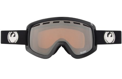 Dragon Alliance D1 Ski Goggles, Coal/Ionized