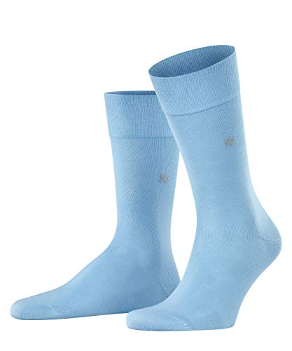 Burlington Herren Dublin M SO Socken, Blickdicht, Blau (Steelblue 6281), 40-46