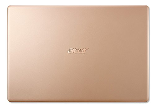 Acer Swift 5 SF514-52T 14-inch FHD Ultra Thin and Light Laptop (8th Gen Intel Core i7-8550U/8GB/512GB/Windows 10 Home/Integrated Graphics), Honey...