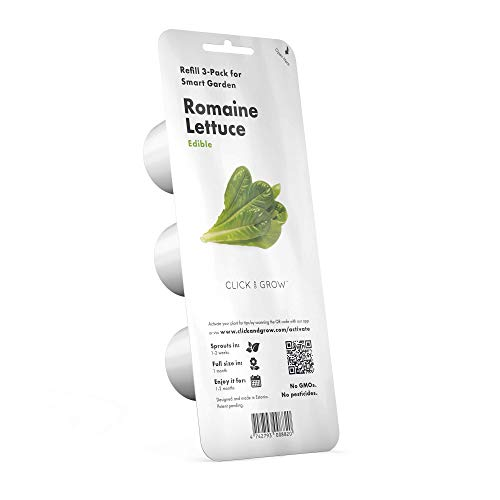 Emsa M5261500 Click & Grow Substrate Capsule Lettuce, confezione di ricarica per Smart Garden, set di 3