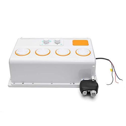 Guiping Car Electronics 12 V 24 V Auto portátil Mini ventilador de aire acondicionado para coche (color: 24 V)