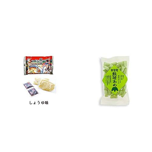 [2点セット] 飛騨高山ラーメン[生麺・スープ付 (しょうゆ味)]・木曽産 熊笹あめ(100g)