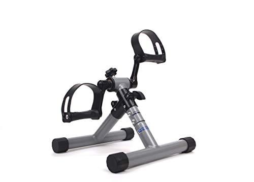 MINI BIKE POWERLEGS – Kompakter, zusammenklappbarer Mini-Heimtrainer aus Stahl für Arme und Beine – Beintrainer zur Förderung der Durchblutung – Tretmaschine – Rehabilitation – Physiotherapie