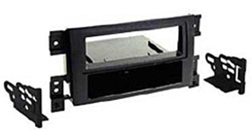 Autoleads FP-33-01 Adaptateur de façade d'autoradio Single DIN pour Suzuki G.Vitara Noir