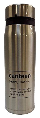 ベストコ カンティーン ステンレスボトル 500ml シルバー ND-8625