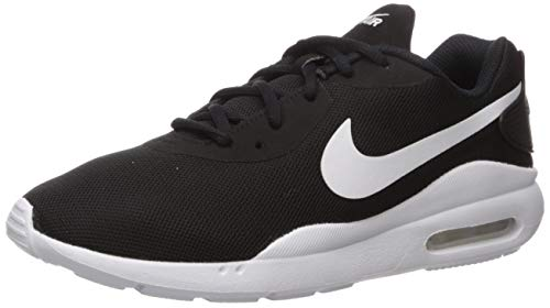 Nike Women's Air Max Oketo Sneaker, Black/White, 9 Regular US