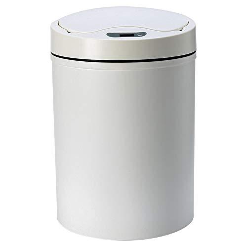 Smart Vuilnisbak Voor Kitchen, Nordic Plastic Automatische Inductie Vuilnisbak USB-Oplaadkabel Vuilnisbak Voor Slaapkamer Badkamer Storage Bucket