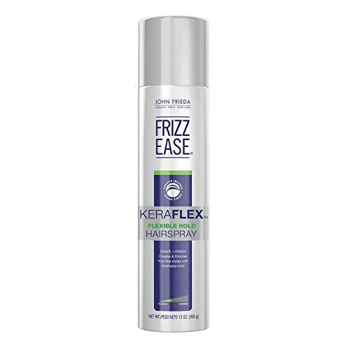 John Frieda Frizz Ease KeraFlex Flexible Hold Hairspray, Firm Hold, Anti-Humidity Hairspray, Keratin Infused Renewal Spray, 13 Ounces