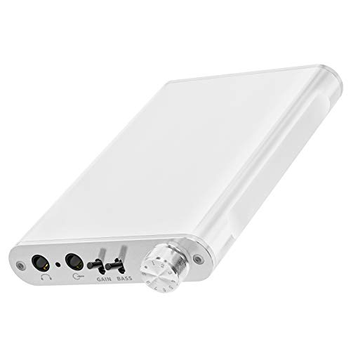 Fosi Audio N2 Headphone Amplifier Portable Amp 3.5MM Gain & Bass Switch Audio HiFi Earphone Headset Powered Dual-Output with Lithium Battery for iPhone, iPod, iPad, MP3 and Computers