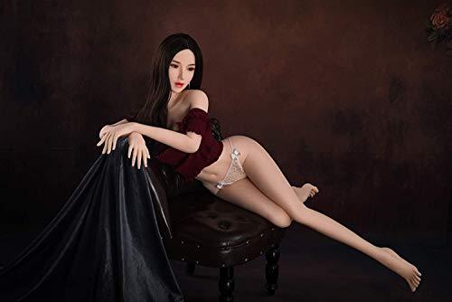 Aufblasbare Puppen-Sexpuppenbrüste können mit Wasser gefüllt Werden, echte Puppen, Sexroboterpuppen, halbes Silikon, echte Größe 165 cm /