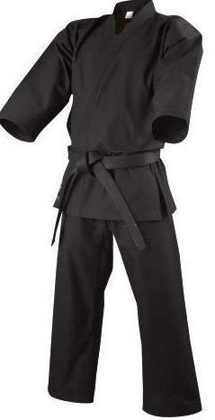 Grupo Contact Kimono Artes Marciales (karategui) Negro, Varias Tallas (1.60 cm.)
