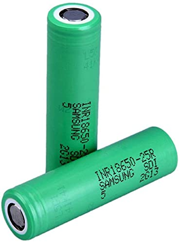 Wiederaufladbare Batterien Flat Top 18650 für Samsung Original 25R 2500mAh Stromversorgung Batterie für elektronische Zigarette/Laterne/Kamera/Ring/elektronische Geräte-2 stücke.