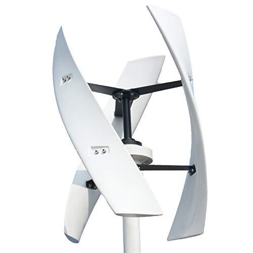 WANGYONGQI Generador De Turbina De Viento del Eje Vertical 1000W, Turbina De Viento De Levitación Magnética 24V para La Iluminación De La Calle del Hogar,1500w,48V