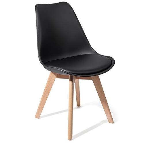 Tomasucci Sedia Kiki Evo Wood Black Set 4 sedie