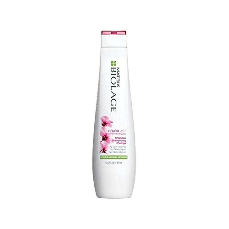 アルカイック無意味神行列のバイオレイジシャンプー400ミリリットル x2 - Matrix Biolage Colorlast Shampoo 400ml (Pack of 2) [並行輸入品]