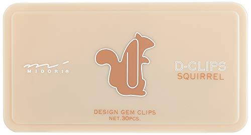 Midori D-Clips Squirrel (43186006)