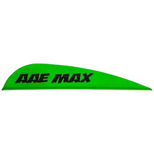 AAE Max Stealth Vane Flo Green 100 pk.