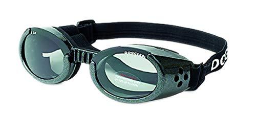 Doggles ILS Hunde-Sonnenbrille Medium Schwarz)
