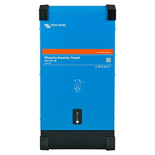 Victron Phoenix Smart 24/3000 - Inversor de corriente (24 V, 230 V, 2400 W, Ve.Direct Bluetooth integrado)