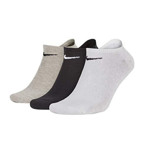 Nike Value Cushioned No-Show Socks Socken 3er Pack (L, multi)