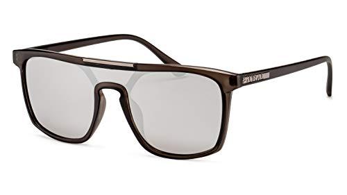 Filtral Verspiegelte Herren Sonnenbrille/Eckiges Modell mit Monoscheibe F3001019
