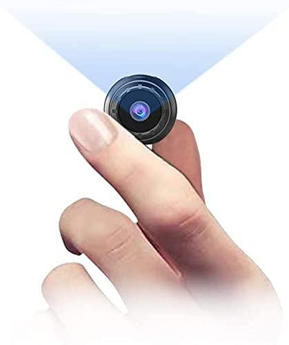 Mini Camera Espion Enregistreur,NIYPS Full HD 1080P Micro Spy Cam sans Fil Petite Nanny Caméra Cachée avec Vision Nocturne et Detecteur de Mouvement, Intérieure  Extérieure Caméra de Surveillance