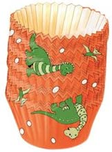 favorite Limited time for free shipping Kaiser Bakeware Patisserie Dinosaur Paper Baking-Cups Large