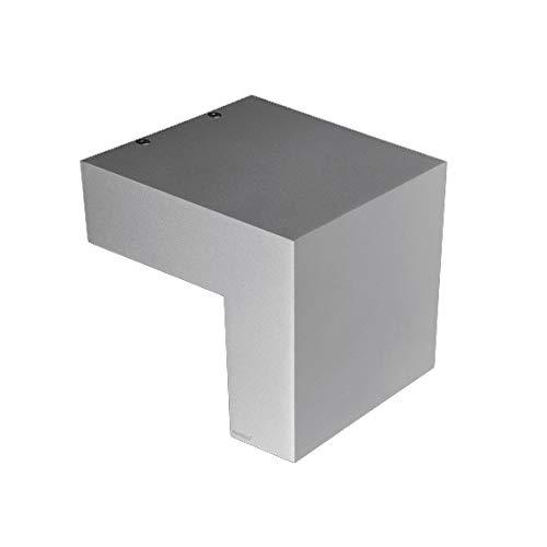 Whisky wandlamp in grijs/grijs/titanium | handwerk kwaliteit van Duitse makelij | Design functioneel dimbaar | buitenlamp