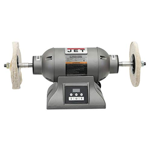 JET IBG-8VSB, 8-Inch Variable-Speed Industrial Buffer (578218)