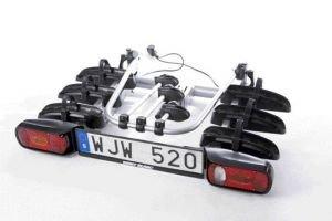 Mont Blanc 856020 Explorer - Soporte para Enganche de Remolque para 3 Bicicletas