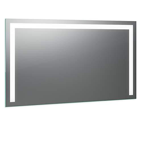Spiegel ID Noera Design: LED BADSPIEGEL mit Beleuchtung - nach Wunschmaß - Made in Germany - Auswahl: (Breite) 200 cm x (Höhe) 80 cm - Modell: 2202501