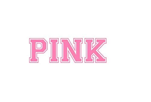 Pink Pale 22x7 Vinyl Decal