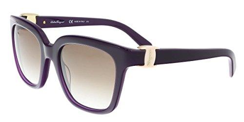 Ferragamo SF782S Gafas de sol, Morado (Violeta), 52.0 para Mujer
