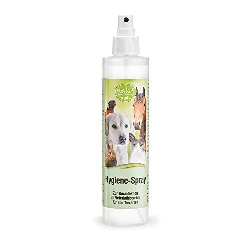 Sanct Bernhard tierlieb Hygiene Spray zur Desinfektion im Veterinärbereich für alle Tierarten, Inhalt 250ml