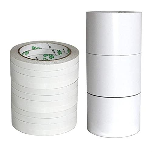 Papel de Cinta Adhesivo de Doble Cara súper Fuerte súper Fuerte Tienda de algodón de algodón de Alto Adhesivo Ultrafino...