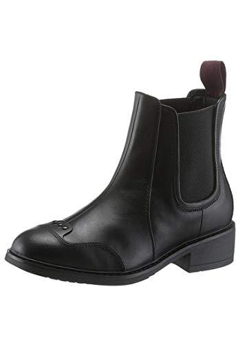 G-STAR RAW Damen Chelsea Boots Leder schwarz Guardian (35)