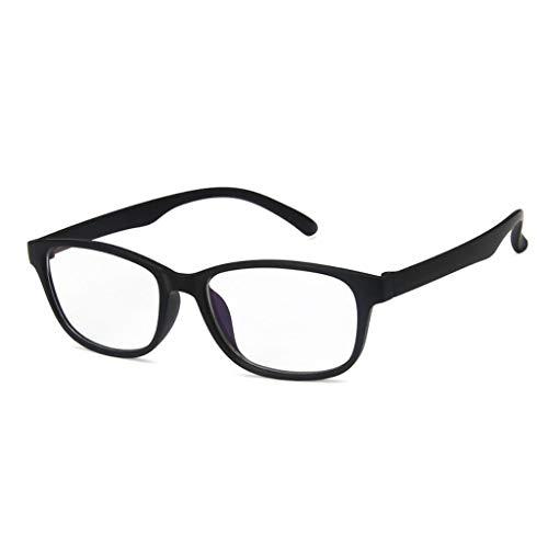 ZZALLL Handy Computer Brille Schutz Anti Blue Rays Strahlenblocker Männer Frauen Computerbrille Brille - Matt Dunkel