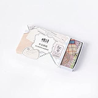 Vimax - Assorted Stickers - Song of the wind series journal Decorative Matchbox Stickers Scrapbooking Label Diary Statione...