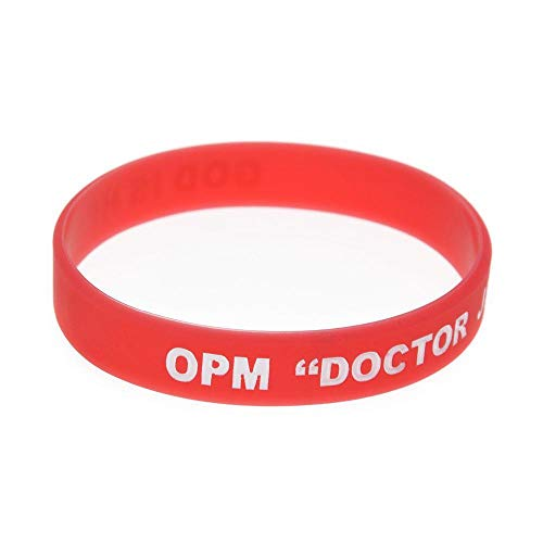 Hjyi Gummiarmbänder Silikon-Armbänder mit Sprüchen Opm Arzt Jesu Kautschuk Armbänder für Christen, Männer und Kinder, Standardsituationen