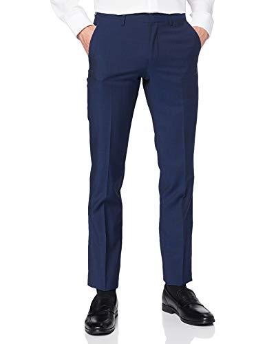 Roy Robson Slim Fit Pantaloni, Blu (Blue 18), 30W x 30L Uomo