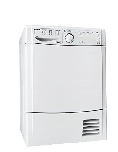 Indesit EDPA 745 A1 ECO (EU) Wäschetrockner, freistehend, Frontlader, 7kg, A+, Weiß, Wärmepumpe, Drehknöpfe, 112 l)
