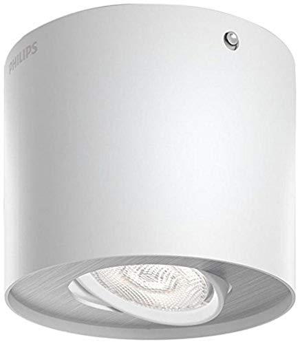 Philips 533003116 Phase Luminaire d'Intérieur Spot LED Métal Blanc 4,5 W