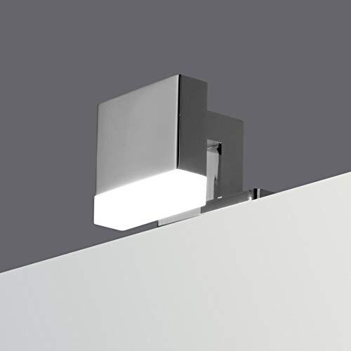 LED Badleuchte Badlampe Spiegellampe Spiegelleuchte Schranklampe Aufbauleuchte, Leuchte:1-flammig