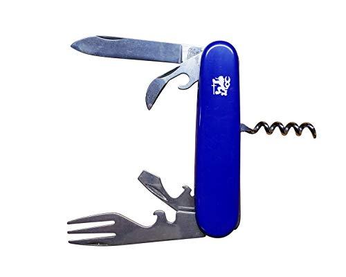 Mikov Adultes piknik Couteau de NH-6P, Longueur de la Lame : 7 cm, 101, Multicolore, Taille Unique